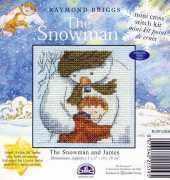DMC BL991UB.64 The Snowman & James