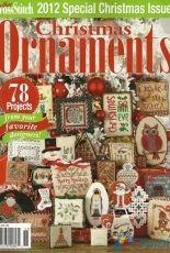 Just Cross Stitch JCS Christmas Ornaments 2012