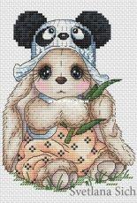 Svetlana Sichkar Panda bunny