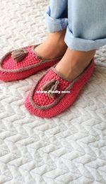 Moccasin Slippers by Au bout du pré