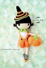 JINsdollami - JINs Little Sweet Gifts - LittleSweetGift - Halloween Pumkin Girl Sabrina