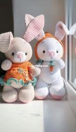 KnitToys - Tatyana Medvedeva - Easter Bunny
