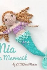 Little Beau Mouse - Caroline Price - Mia the Mermaid