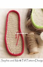 Sophie and me - Any Size Customized Crochet Sole Method Plus 4 standard sizes with instructions