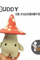 Mispeltoy Crochet - Kenzi Noe - Buddy Mushroom - Dutch
