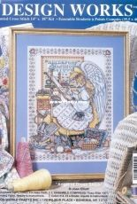 Design Works 9952 - Angel of Cross Stitch
