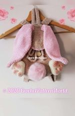 Crochet Pattern World - Annea Leolea - Bunny Backpack