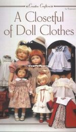 A Closetful of Doll Clothes by Rosemarie Ionker