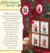 International Santas by Robin Clark from Cross Stitch Christmas 1991