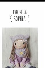 Wolltastisch Handmade -  Alexandra Schwarz -  Little Doll Sophia - German