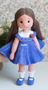Violettas Friends - Amigurumi doll pattern
