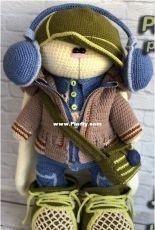 Crochet Bunny Art - Irina Tarasova - Set Jonas - Dutch