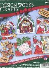Design Works Crafts 1692 Santas Workshop - Plastic Canvas