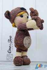 One and Two Company - Carolina Guzman -Honey the Teddy Bear Girl Amigurumi