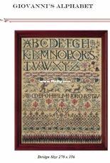 Tempting Tangles Designs - Giovanni's Alphabet