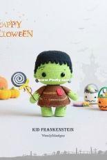 Wendy Li Designs - Kid Frankenstein - Translated