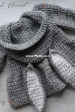 You Crochet - Jeanie Andrea - Harry and Harriet Hooded Bunny Jacket