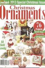 Just Cross Stitch JCS Christmas Ornaments 2013