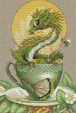 Tea Dragon by Nadezhda Kazarina (Nadi)