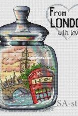 From London with Love by Alexandra Zamorina