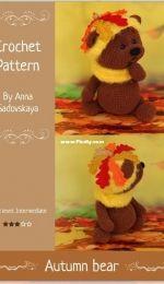 Zovutka - Anna Sadovskaya - Autumn Bear - Herbst Bär - German