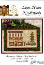 Little House Needleworks LHNPC-100 - Hometown Holiday Series 13 - The Bookstore