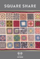 Square Share Throw by Kate Davies Designs-Free
