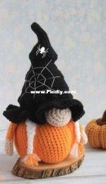Pam Pino Store - Nazeli Mkrtchyan-Tadevosyan - Halloween Pumpkin Gnome