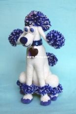 Inspired Crochet Toys - Elena Pichugina - Lady Poodle Pompony