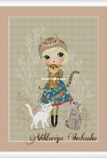 Cat's Love by Victoria Ivchenko (Viktoriya Ivchenko)