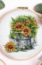 Sunflower by Evgenia / Evgeniya Poluektova