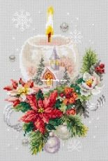 Chudesnaya Igla / Magic Needle 100-231 Christmas Candle XSD
