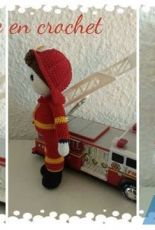 Un monde en crochet - Lidia K - Olivier the Firefighter   - French