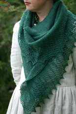 A Hap for Harriet Shawl/Wrap by Kate Davies