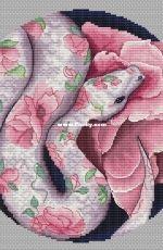 Paradise Stitch - Eden Serpent by Olga Lankevich
