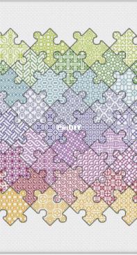 Peppermint Purple - Jigsaw Puzzle