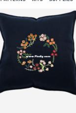 DMC Autumn Flowers - Embroidery - Free