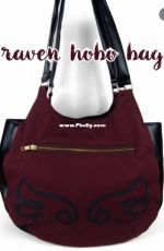 Choly Knight - Sew Desu Ne? - The Raven Hobo Bag - Free