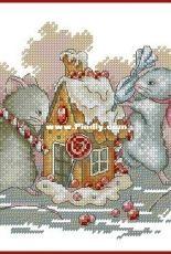 Gingerbread House by Anna Petunova XSD