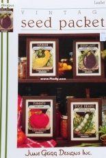 June Grigg Designs Leaflet 38 - Vintage Seed Packets Vol I