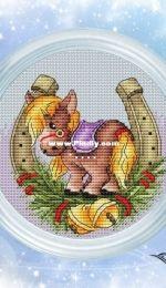 Eastern Calenda / Chinese Zodiac - Horse by Antonina Tretyakova