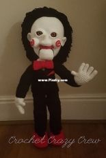 The devils Puppet by The crazy crochet crew