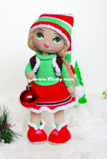 Gorbunova Dolls Design - Julia Gorbunova - Merry Christmas doll