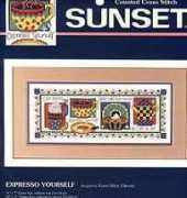 Dimensions Sunset 13610 - Expresso Yourself
