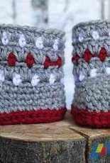 Newborn Knots- Amanda Chapman- Cozy Color Booties
