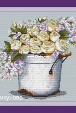 Bouquet of Roses by Alesya Chikunova / Алеся Чикунова