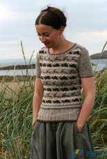 Tortoise and Hare pullover by Kate Davies