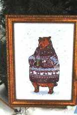 Animals in Sweaters - Brown Bear by Ekaterina Gafenko and Mila Vozhd