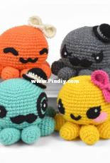 Choly Knight - Sew Desu Ne - Octopus Amigurumi - Free