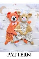 Sophie and Co - AVokhmina Patterns - Anastasia Vohmina - Anastasiya Vokhmina - Cotton Baby Comforter - Series 4